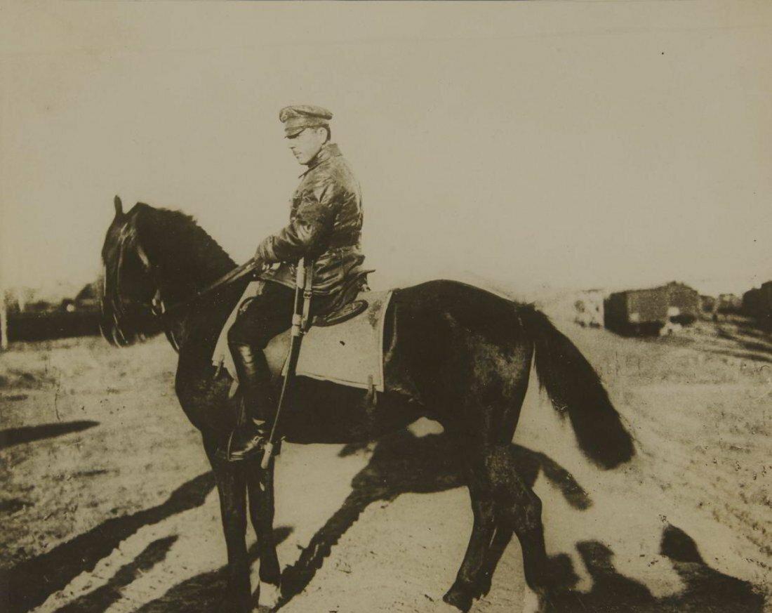 1920. Неизвестный фотограф.  Михаил Фрунзе