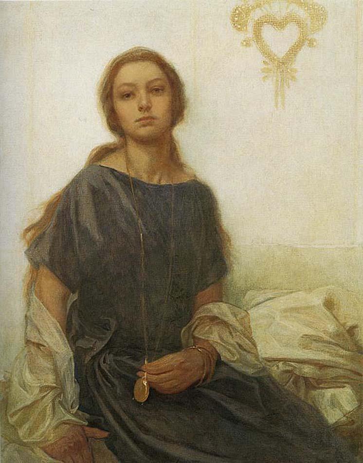 Портрет Ярославы. 1930 Альфонс Муха (1860–1939) Альфонс Муха (1860–1939)