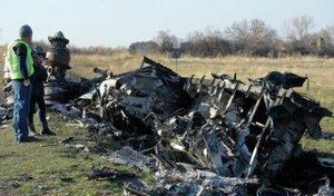 Обломки Малайзийского Boeing отправлены поездом в Харьков
