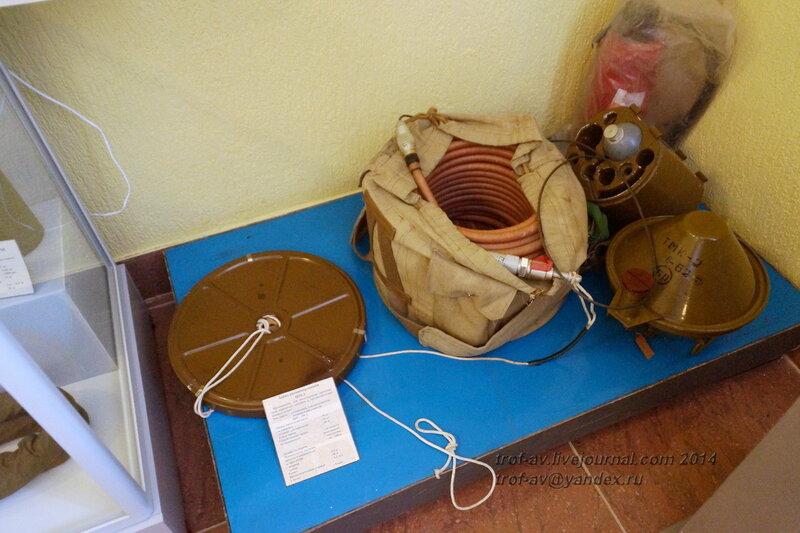 Мины и оборудование для разминирования, Музей истории ВДВ, Рязань