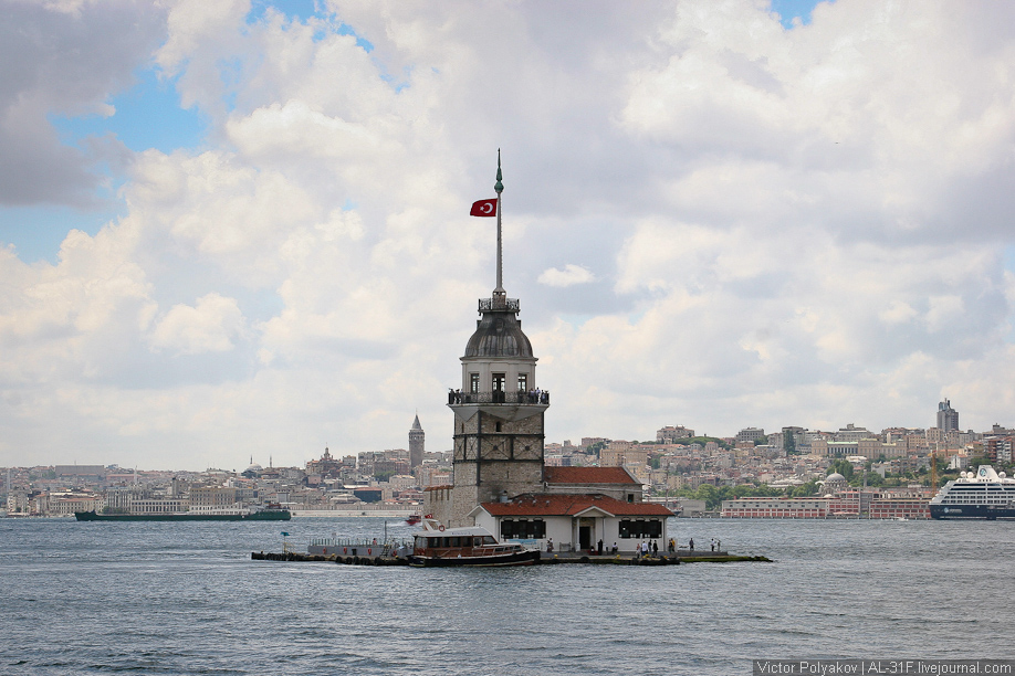 Стамбул. Девичья башня