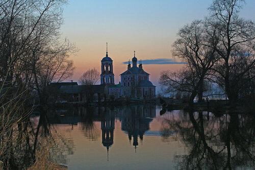 Переславль-Залесский - путешествие на Масленицу. Церковь Сорока мучеников