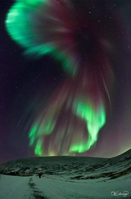 Красивые фотографии полярного сияния 0 10d60d 615e3afe orig