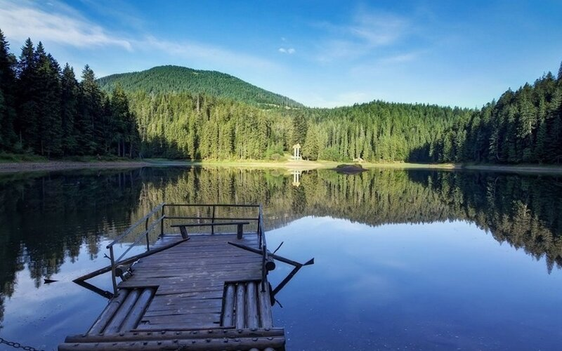 Озеро Синевир, прекрасная жемчужина Карпатских гор 0 d8eea cb4304be XL