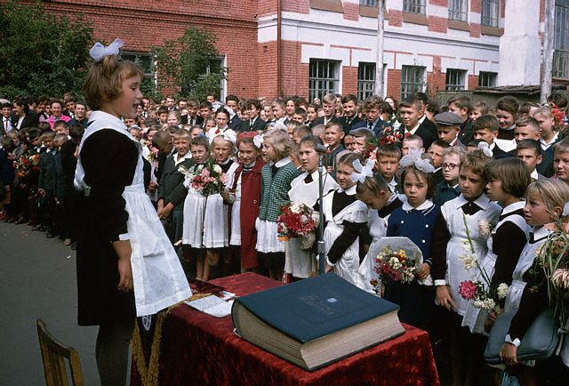 Ceremonies to Mark First Day of School, Russia