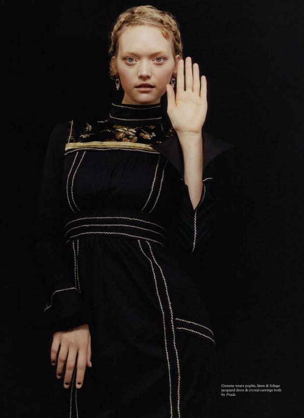 Джемма Уорд (Gemma Ward) в журнале pop (5 фото)
