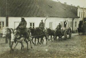 Груда сапог,брошенных австрийскими солдатами при отступлении из г.Лемберга.