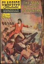 Classics illustrated - The Man Without a Country