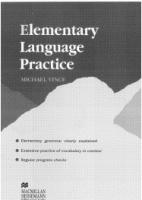 Аудиокнига Elementary Language Practice pdf 22,72Мб