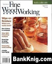 Журнал Fine Woodworking №178 July-August 2005 pdf 17Мб