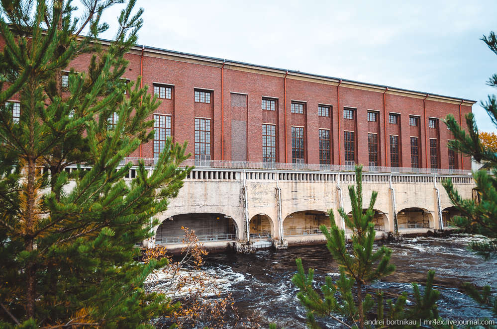 Imatran voimalaitos, ГЭС Иматра, Вуокса