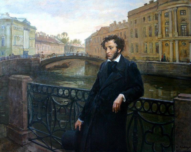 "Александр Кравчук ""Пушкин на Мойке"", 2000 г."