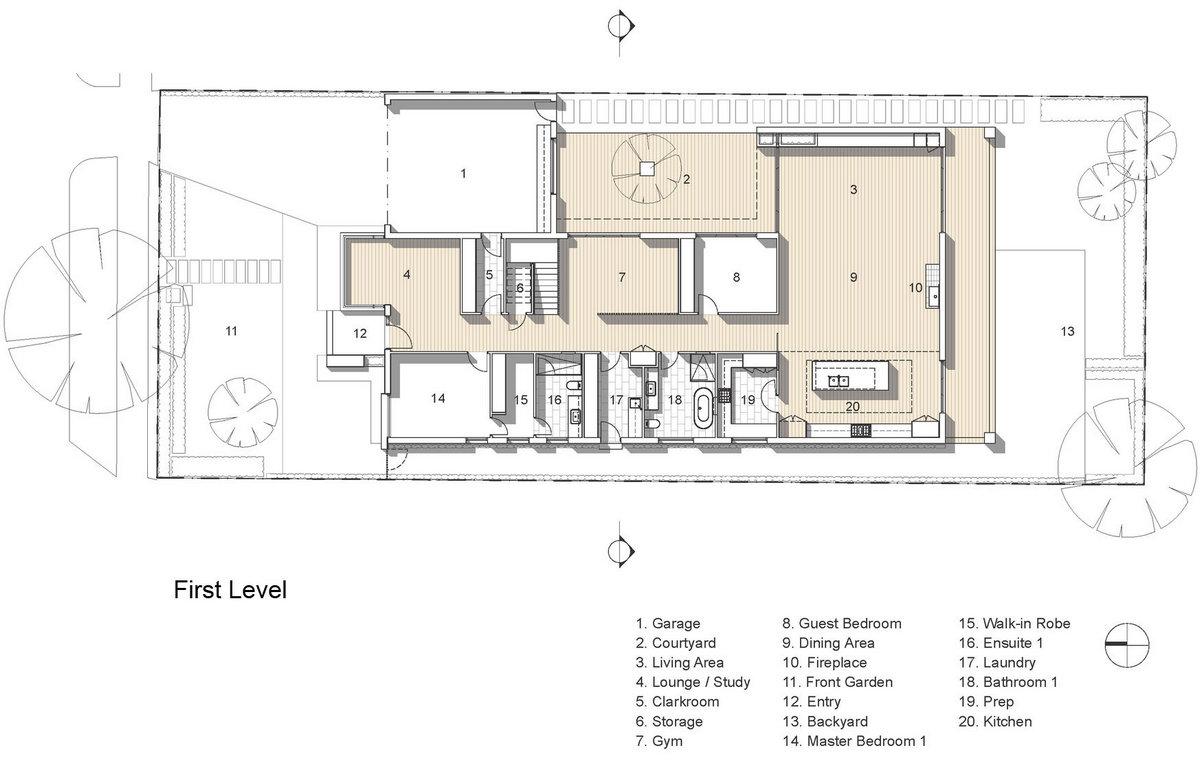 High Street, Alta Architecture, частные дома в Австралии, частные дома в Мельбурне, дом для родителей, частный дом на две семьи, фасад дома из камня
