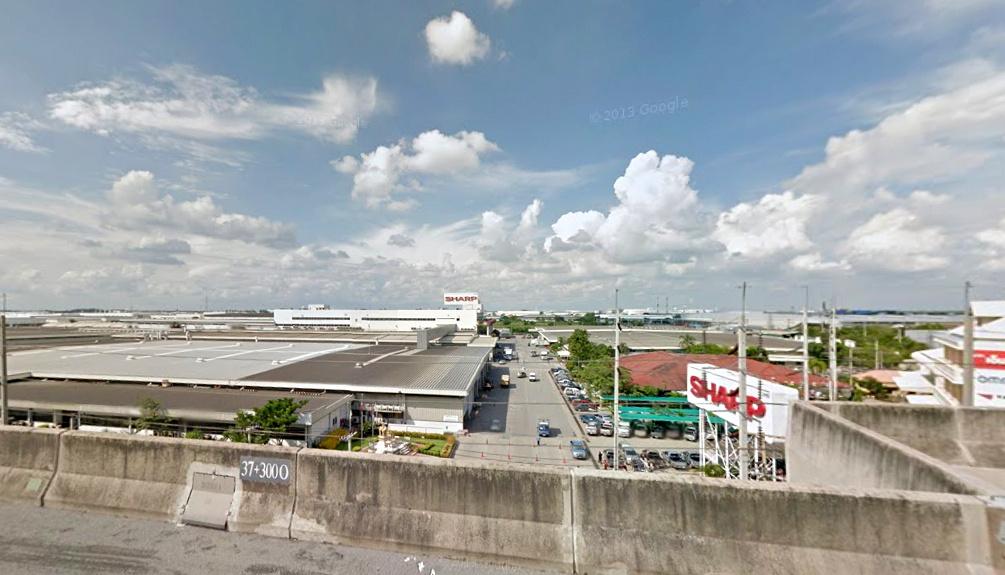 Сборочный завод холодильников в Таиланде, SATL (Sharp Appliances Thailand LTD).