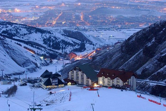 Паландокен горные лыжи в турции