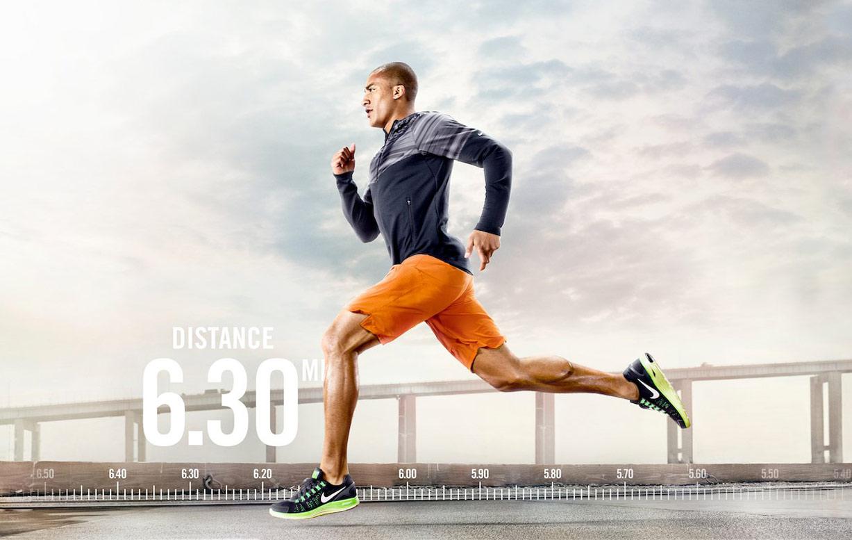 Спортивные звезды в рекламной кампании Nike / фотограф Warwick Saint