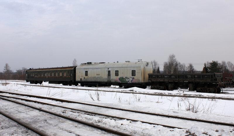 Вагон станции Почеп МСК