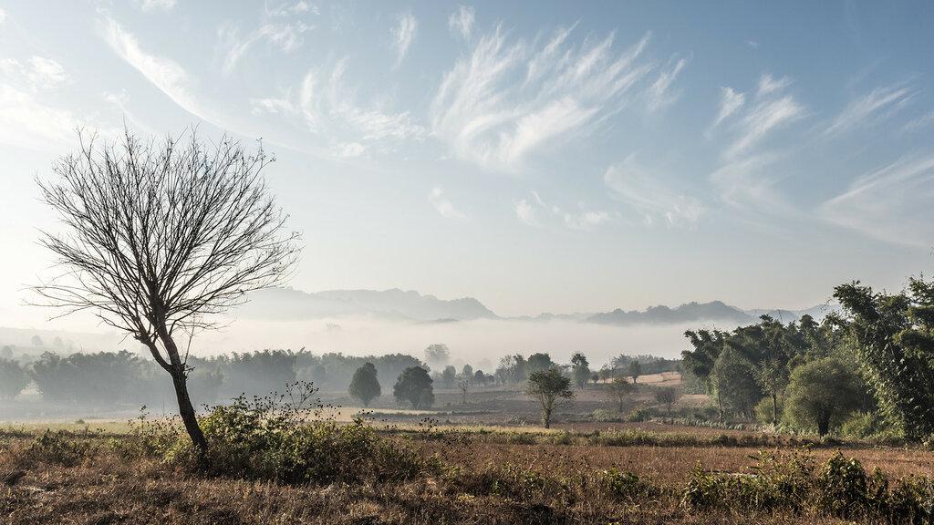 Бирма. Трек отдеревниКало козеруИнле– часть3