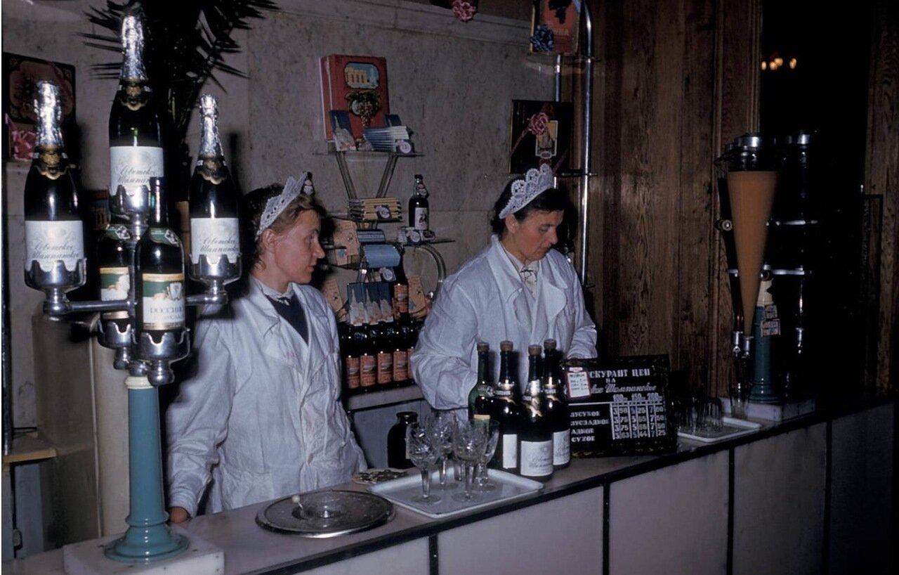 Тбилиси. Магазин по продаже шампанских вин