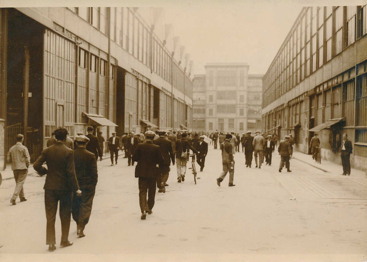 1936. Забастовка рабочих завода Форман