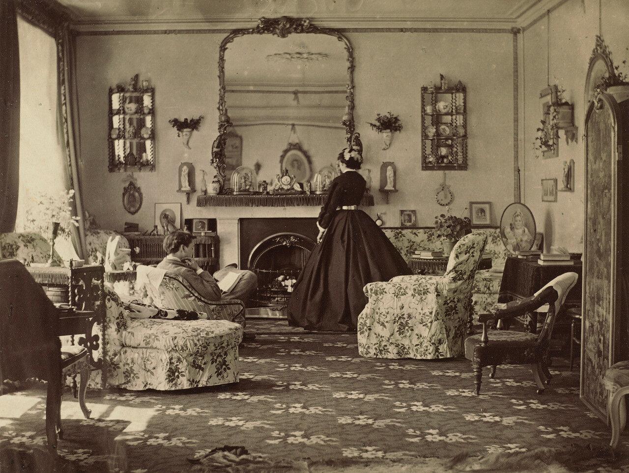 1859. Интерьер комнаты