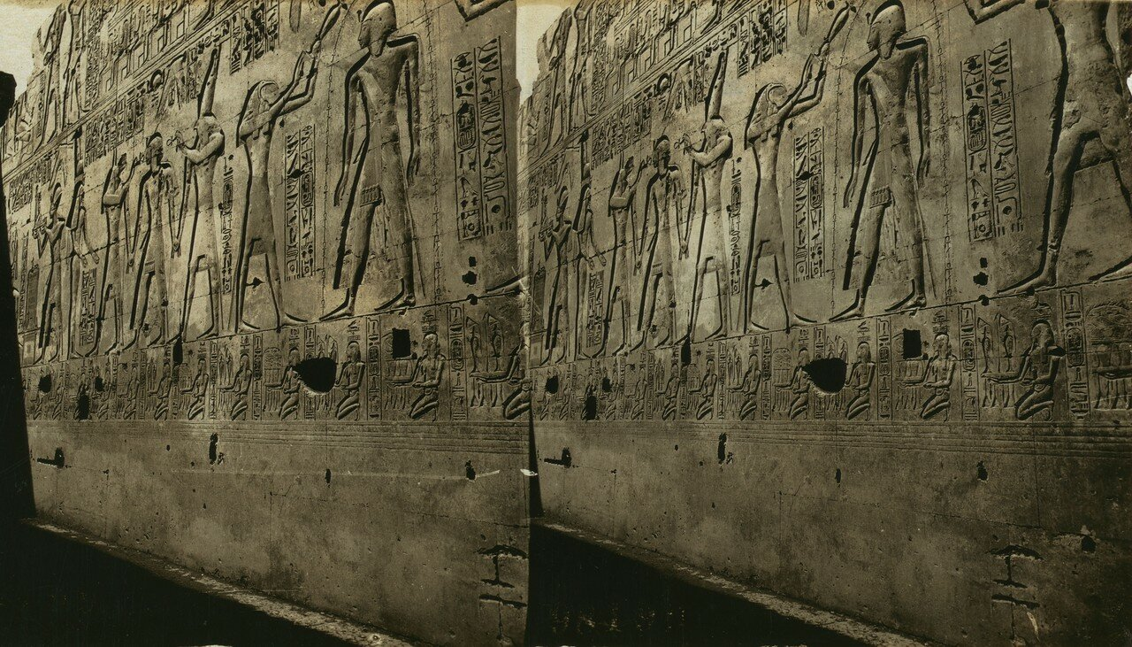 Абидос. Храм Сети I. Иероглифы