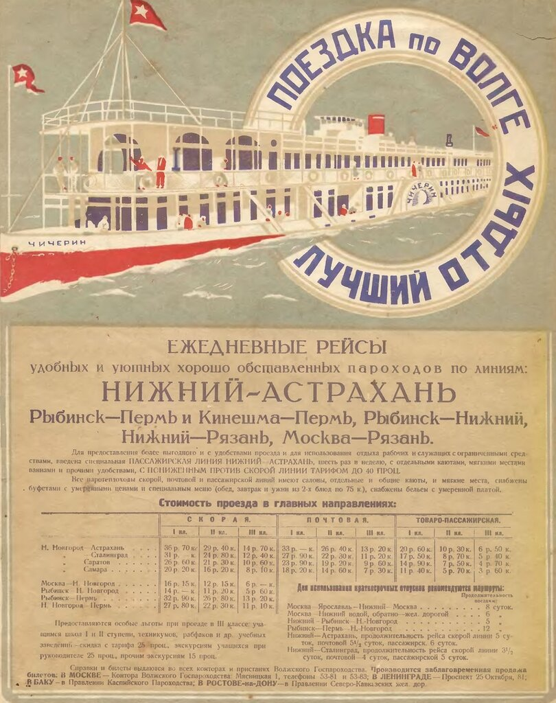 A tour along Volga is the best vacation , 1928.jpg