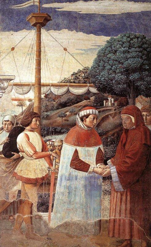 005-Бл.Августин причаливает в Остии.jpg