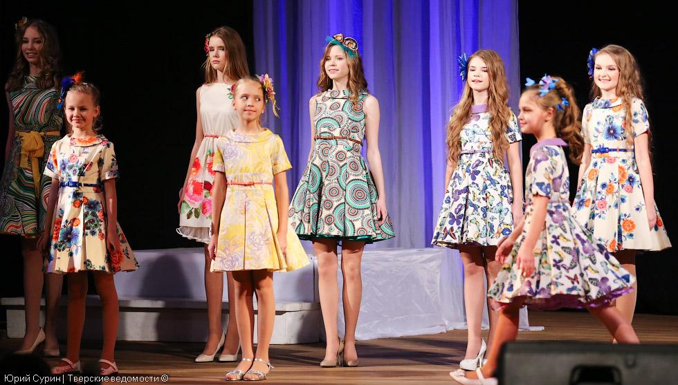 Детский конкурс красоты в Твери