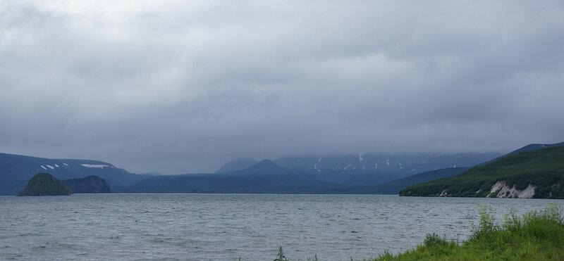 Курильское озеро.