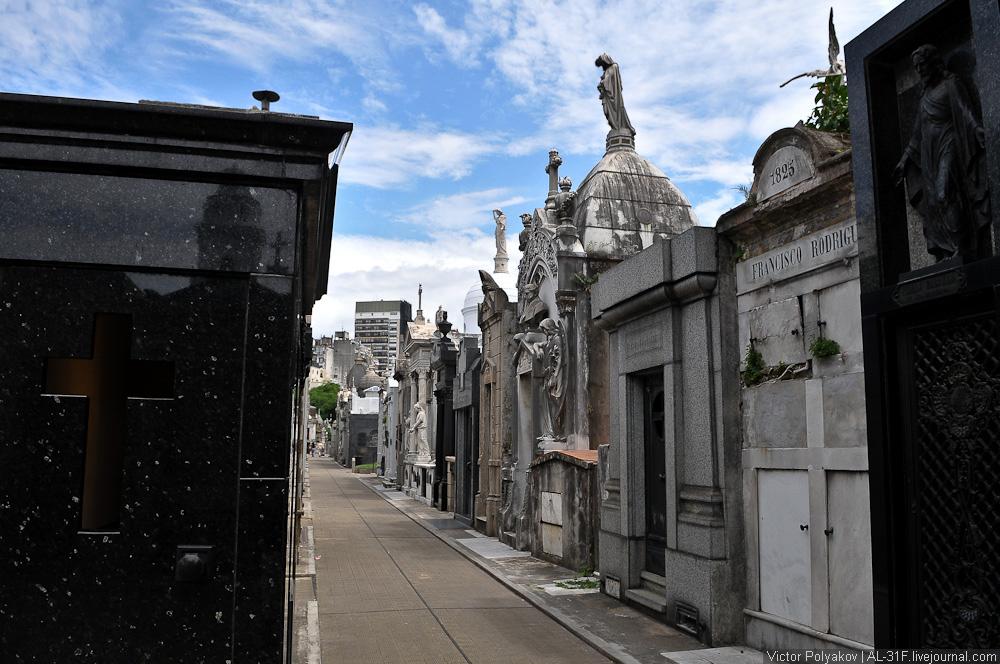 Буэнос-Айрес. Кладбище