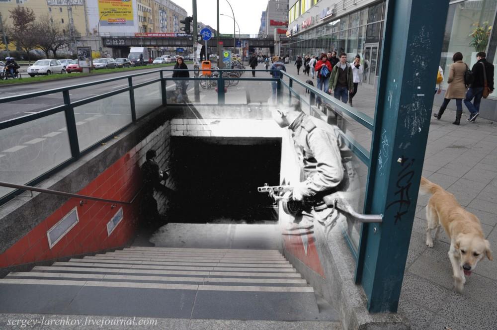 47 Берлин 1945-2010. Бой за станцию меро Франкфуртераллее - Frankfurter allee..jpg