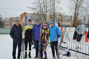На зимних сельских играх 2015 год.