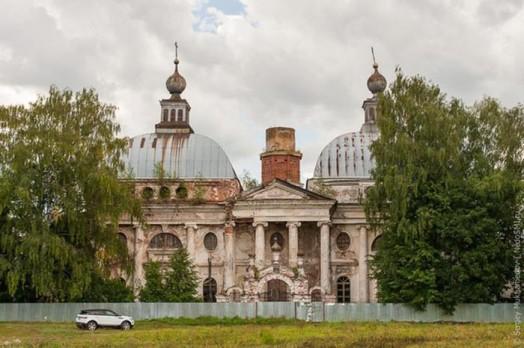 Прогулка по заброшенному храму Казанской иконы Божьей Матери в Яропольце 0 11e845 eea2a382 orig