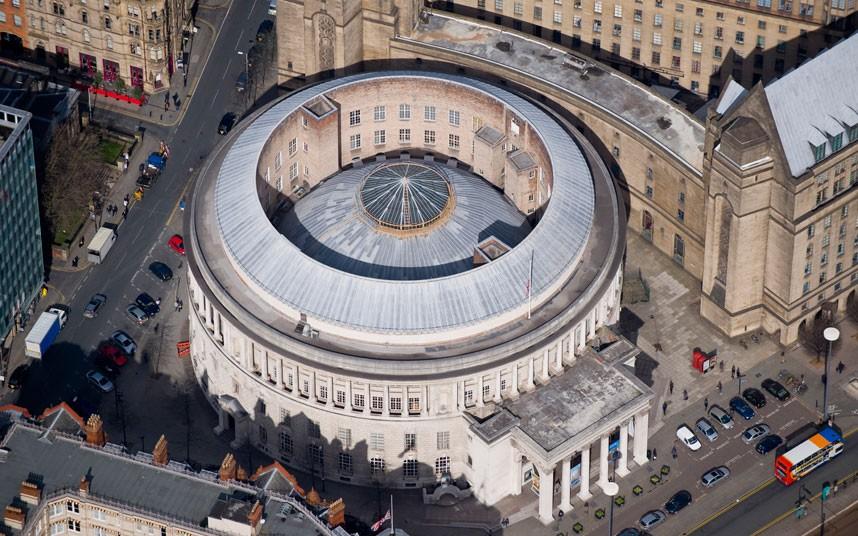 11. Манчестерская центральная библиотека, построенная под вдохновением римского Пантеона. Построена
