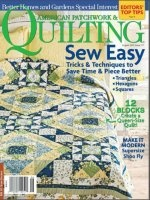 Журнал American Patchwork & Quilting №117 August 2012 pdf  29,6Мб
