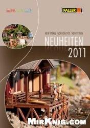 Журнал FALLER. Neuheiten 2011