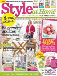 Журнал Style at Home - May 2015 (UK)