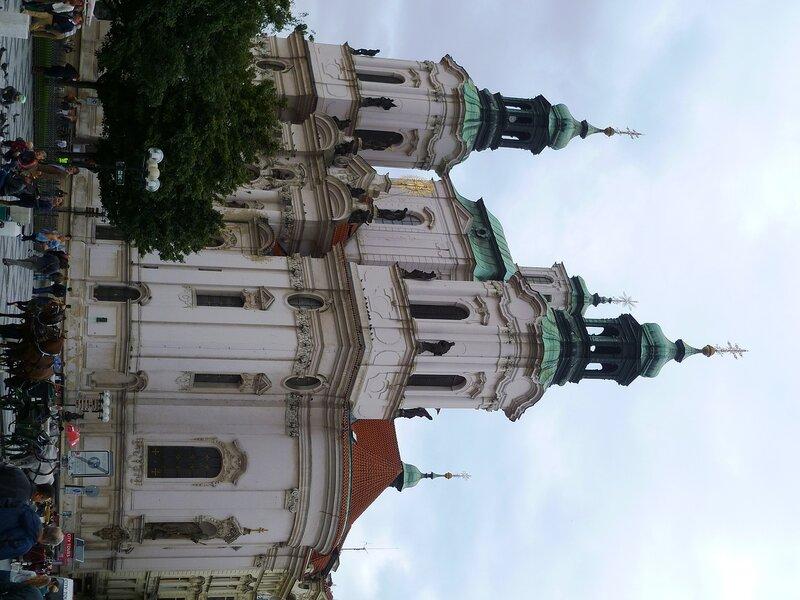 Прага, собор Святого Микулаша (Prague, St. Nicholas)