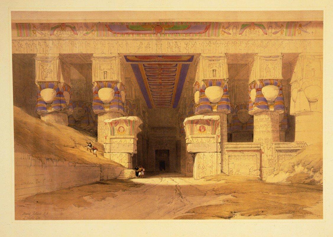 1848. Вход в храм