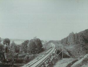 Деревянный мост на 281-й версте, пикет №38+15