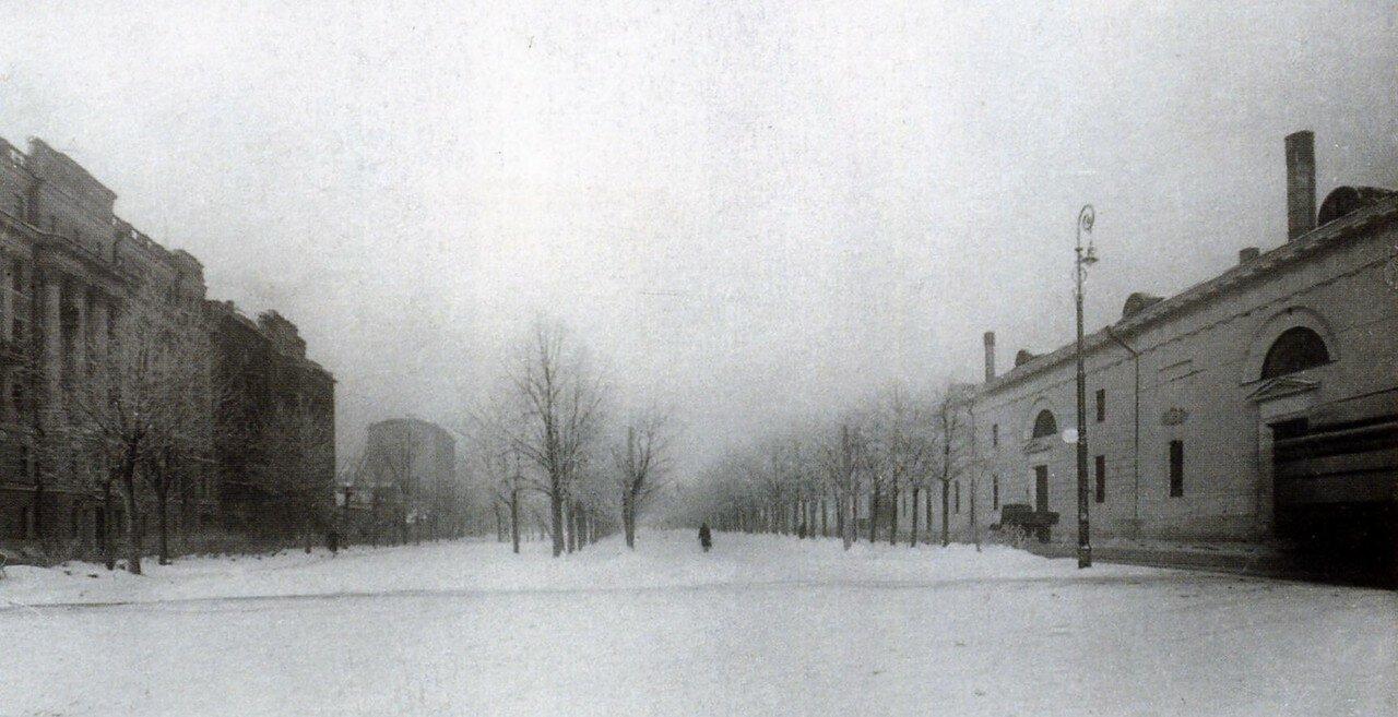 1920. Зубовский бульвар от Крымской площади