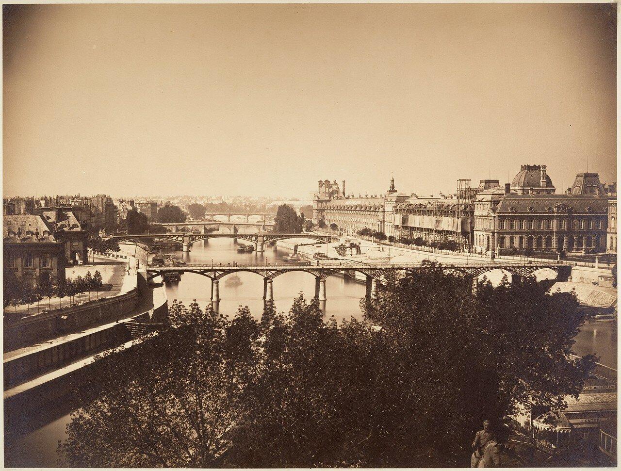 1857. Вид на Сену