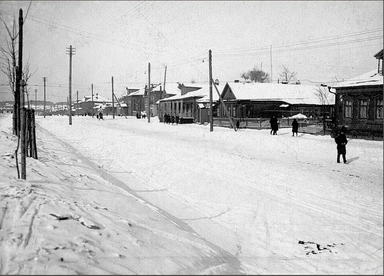 1933. Ленинградское шоссе