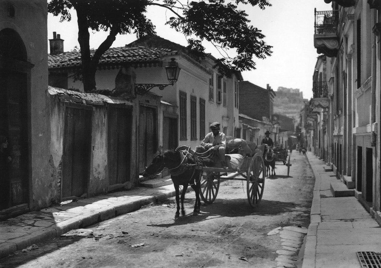 1920. Афины, район Плака