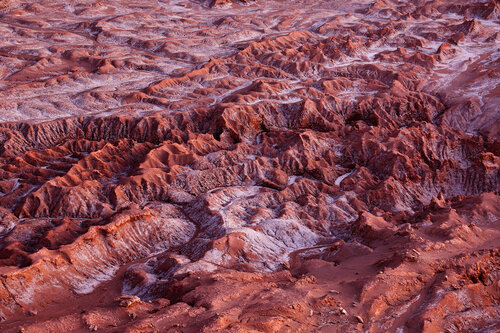 Марсовый ландшафт Лунной долины