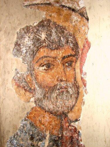 Δοκιμάστε Virgin επίπληξη νερό.  Μια τοιχογραφία στην εκκλησία του XI αιώνα Ατένι Sioni, Γεωργία.