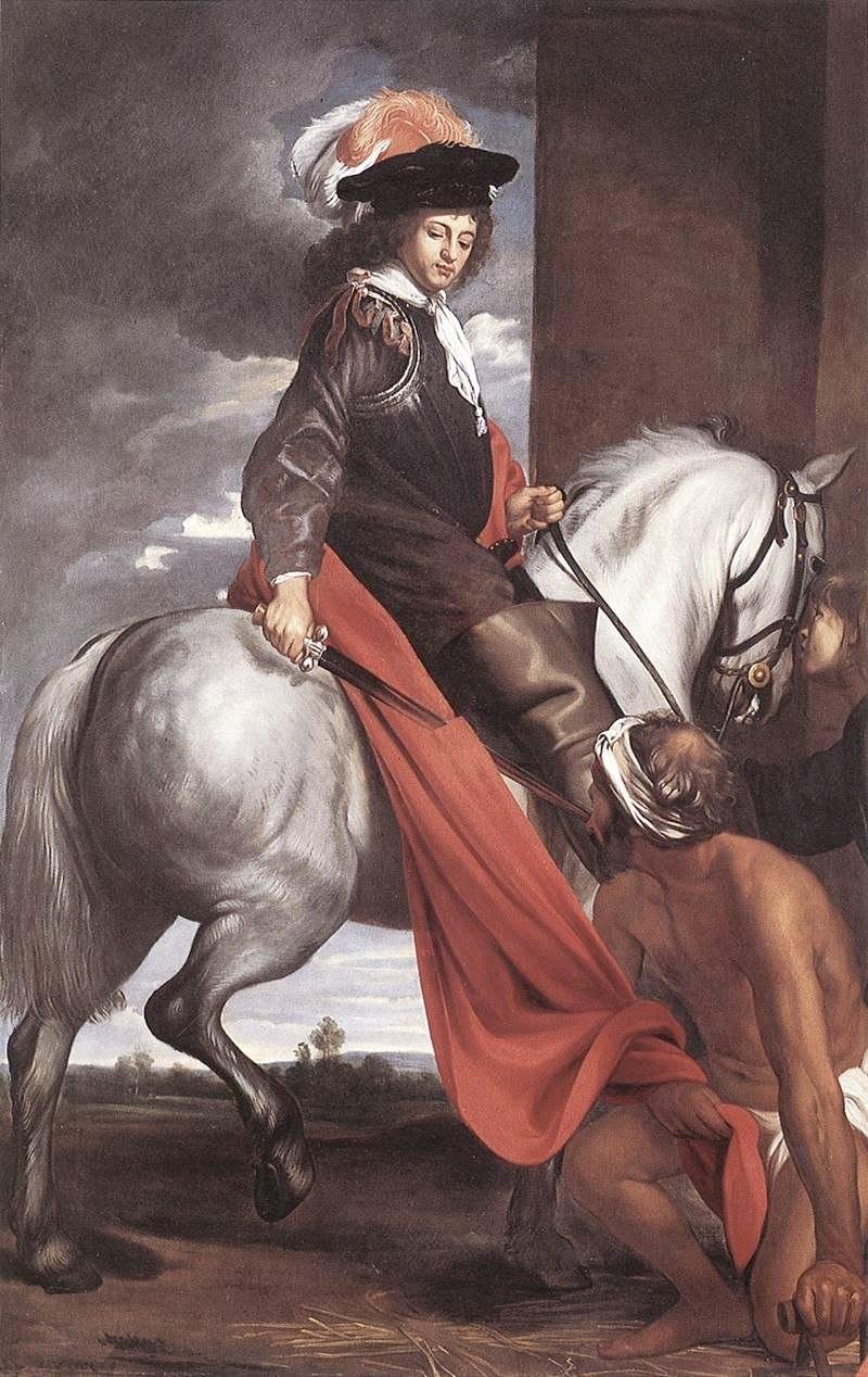 """Якоб Ост Старший. """"Святой Мартин"""" 1645"""