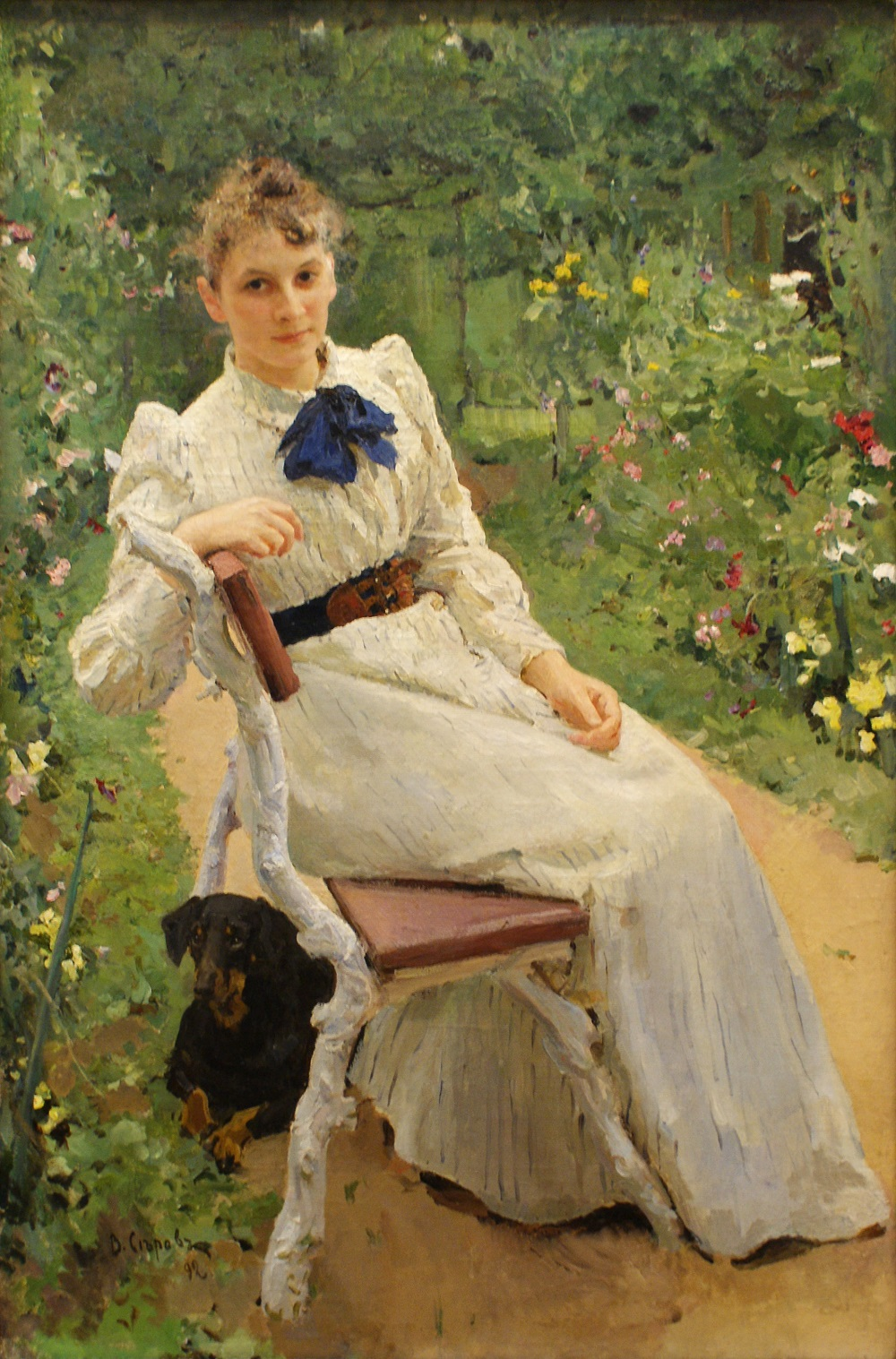 Валентин Серов Тамара Ольга Федоровна (1892)