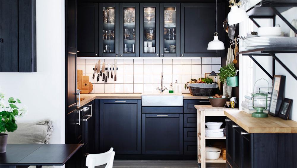 Фото кухни икеа в интерьере фото покупателей